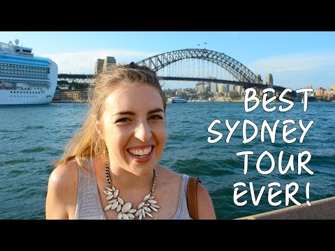 BEST TOUR GUIDE IN SYDNEY - AUSTRALIA | SYDNEY VLOG