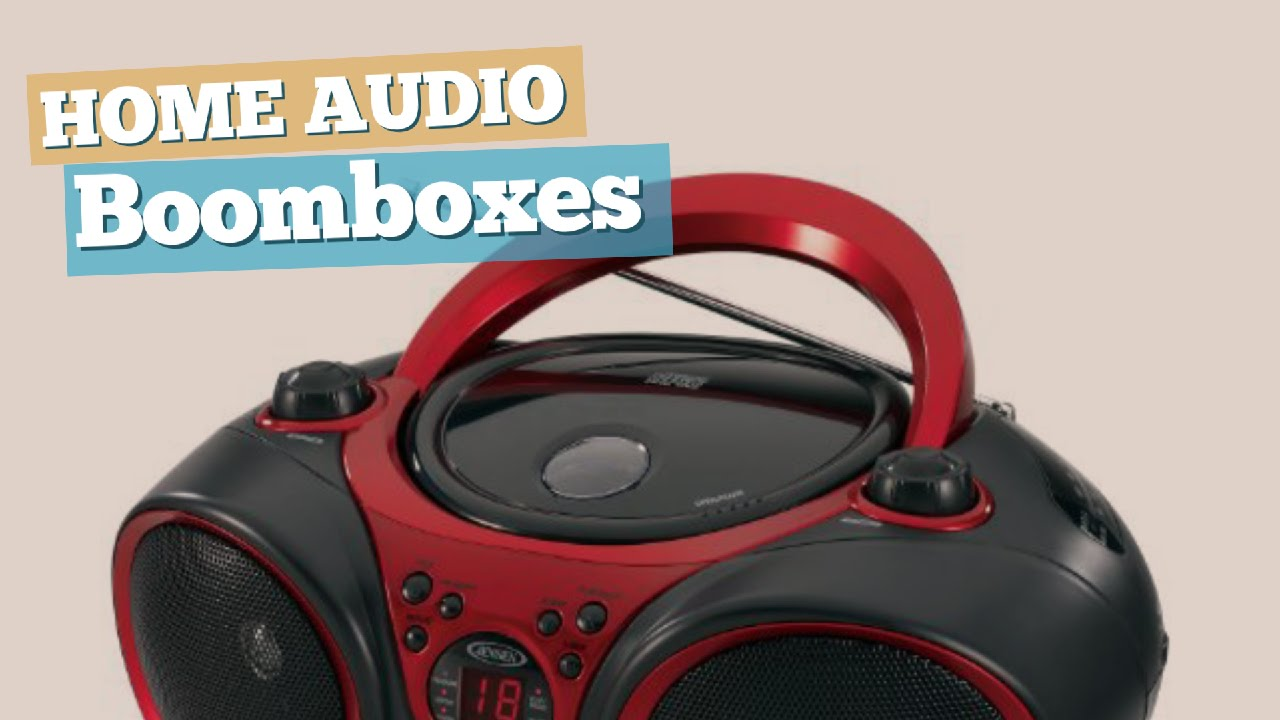 Boomboxes // Home Audio Best Sellers
