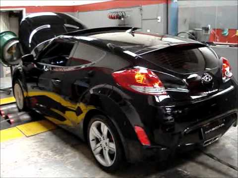 Hyundai Veloster Reprograma o da ECU chip Nascarchips youtube