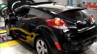 Hyundai Veloster Reprograma o da ECU chip Nascarchips youtube