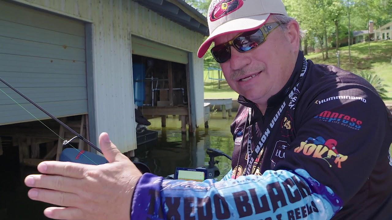 Wally Marshall on Shootin' Docks with Mr Crappie Glo Colors