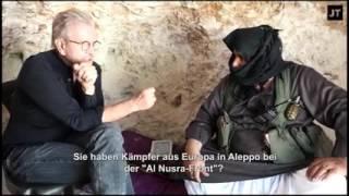 Jürgen Todenhöfer: Unterstützen die USA in Syrien Al Qaida? Al Nusra Kämpfer packt aus.