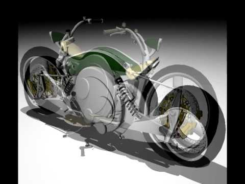free energy motorcycle  MAGNUS FREE ENERGY MOTORCYCLE DESIGN 2009 VŠVU JURAJ FARKAŠ - YouTube
