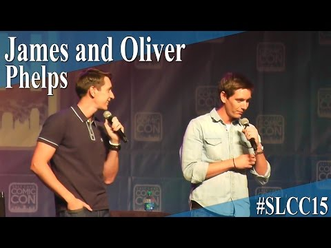 James and Oliver Phelps - Full Panel/Q&A - Salt Lake Comic Con 2015