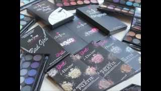 Sleek Makeup Eyeshadow Palette Swatches Thumbnail