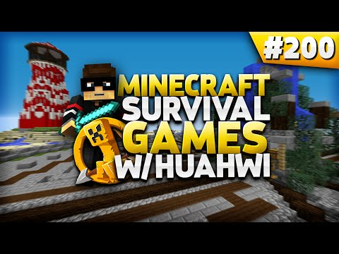 Minecraft Survival Games #200: MCSG Marathon!