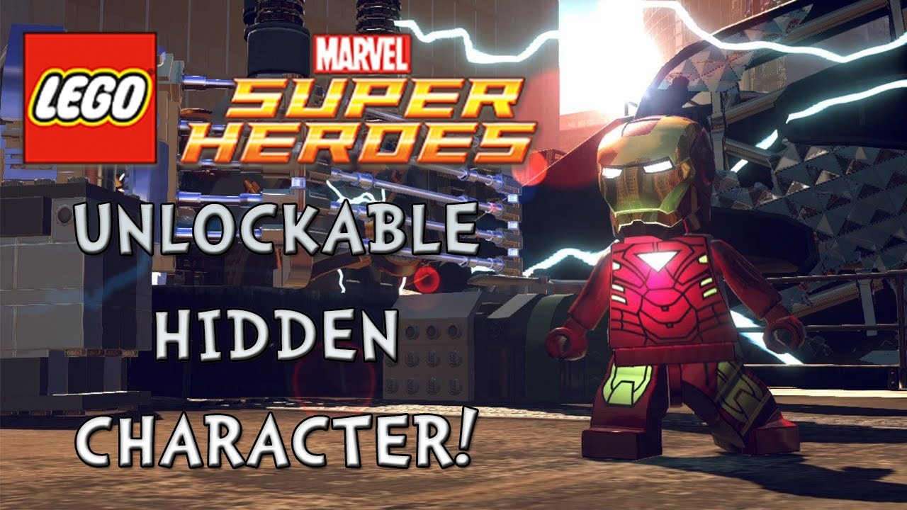Lego Marvel Super Heroes Secret Character Unlockable Youtube
