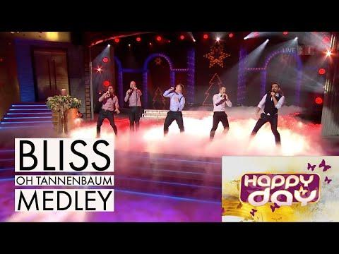 BLISS | Oh Tannenbaum - Medley - Live Im HAPPY DAY Auf SRF 1