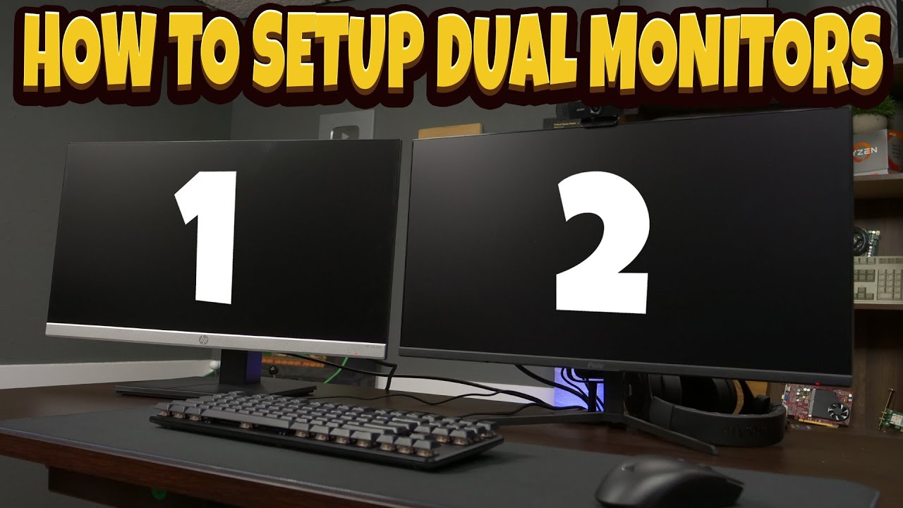 Monitors 10 2021 double set windows up how to How to