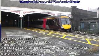Season 8, Episode 29 - Trains at Burton-on-Trent station