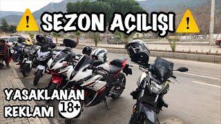 sezon ailii yasaklanan reklam 18 yamaha r25 grubu 10 motorsklet mr eker motovlog