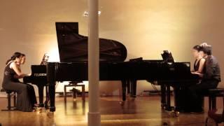 Dvorak - Slawischer Tanz g moll, Op 46, Nr 8 für 2 Klaviere zu 8 Händen