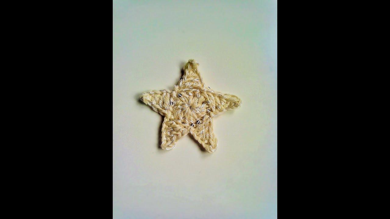 Tutorial Estrella Amigurumi Star : Tutorial estrella de ganchillo facil y rapida. Easy ...
