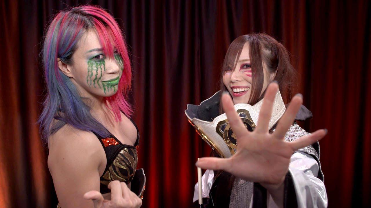 The Kabuki Warriors, Kairi Sane and Asuka