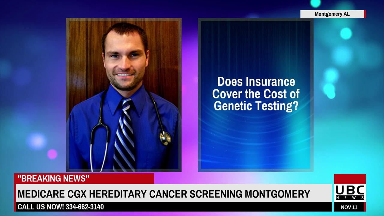 Medicare CGX Hereditary Cancer Screening - YouTube