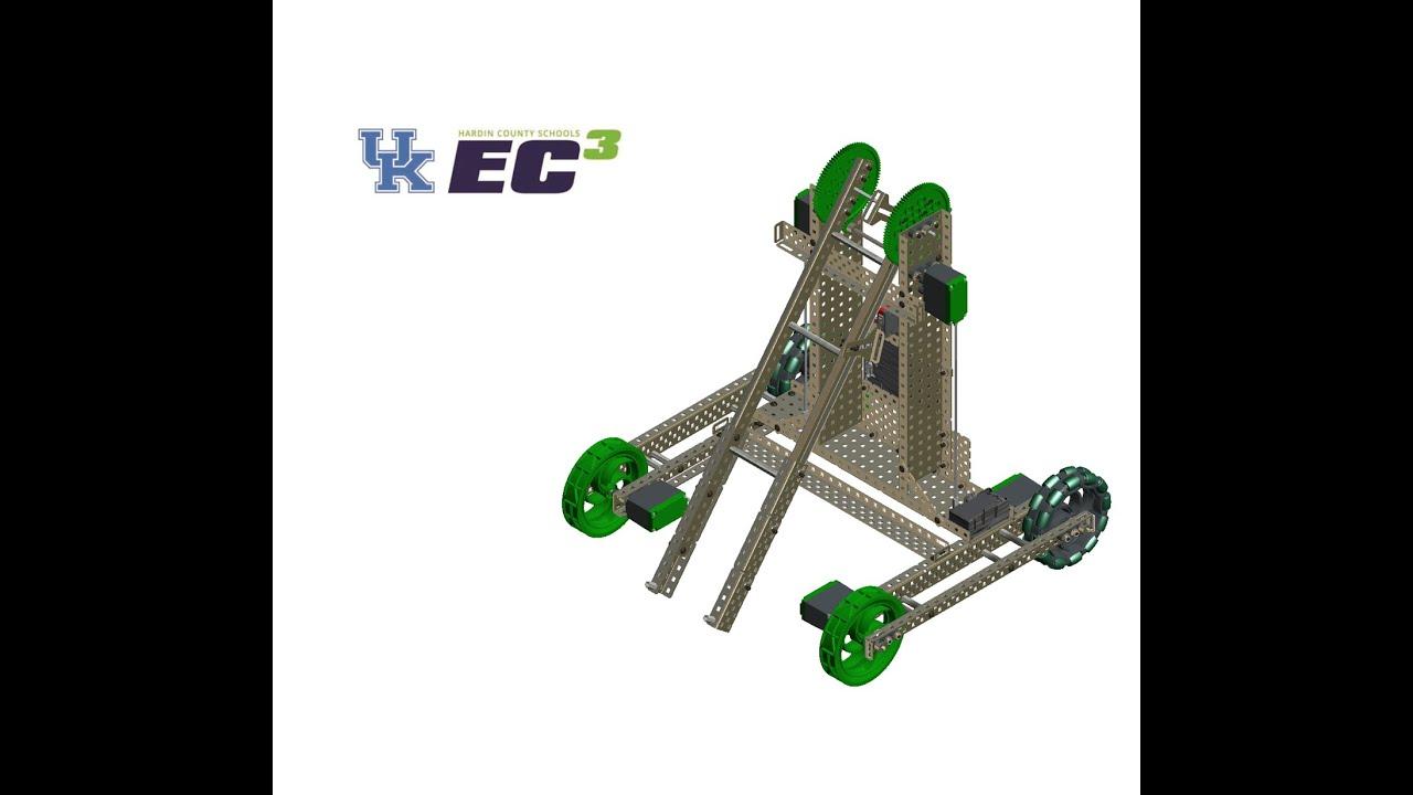 VEX StarStruck Kentucky StarterBot Assembly by UK Engineering ...