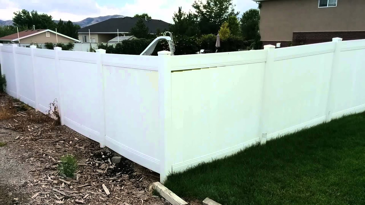 Vinyl Fence Repair Loose rails and pickets