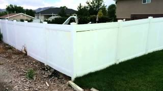 Vinyl Fence Repair - Loose Rails And Pickets