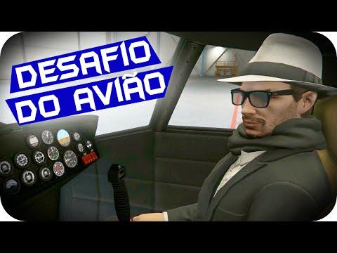 GTA 5 PC Online - DESAFIO DO AVIÃO