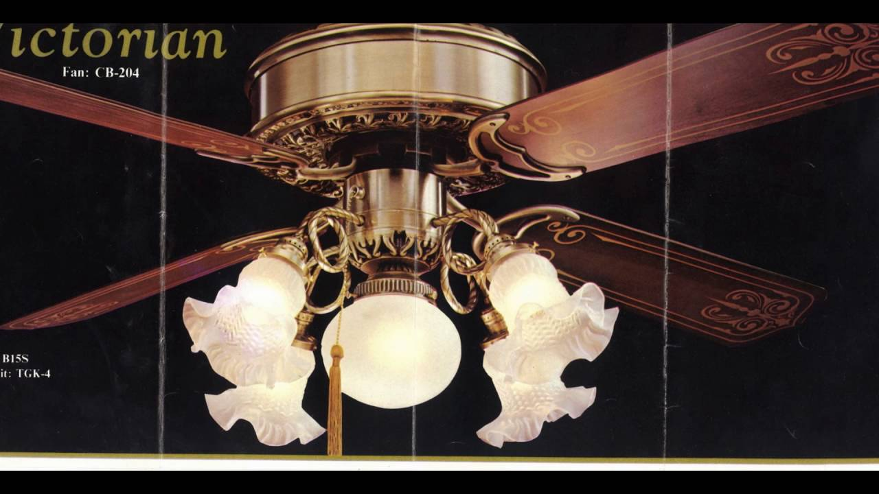 1970s Ceiling Fan : S era casablanca ceiling fan catalogs youtube