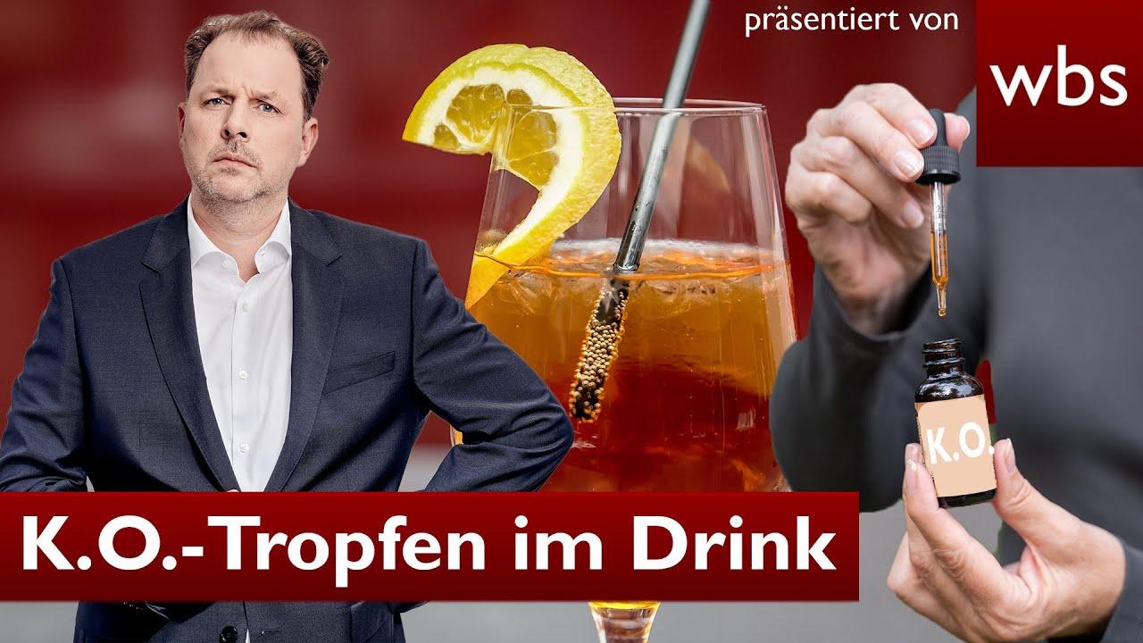 Download K.O.-TROPFEN im Drink: Tätern droht HARTE Strafe!   Anwalt Christian Solmecke