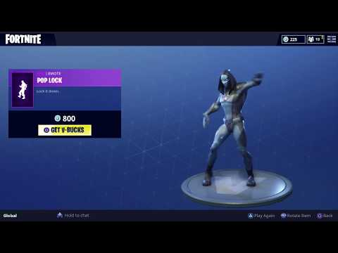 FORTNITE POP LOCK EMOTE 1 HOUR