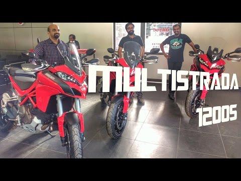 Taking Delivery of Ducati Multistrada 1200s