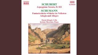 5 Stücke im Volkston, Op. 102: No. 5 Stark und markiert