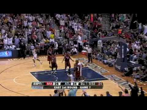 NBA Playoffs 2009 - First Round - Game 7 - Miamia Heat @ Atlanta Hawks