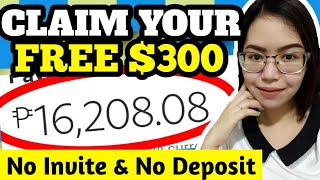 CLAIM FREE $300 IN JUST 24 HOURS | PWEDE I-CASH OUT | NO NEED TO INVITE JUST REGISTER AND CLAIM IT