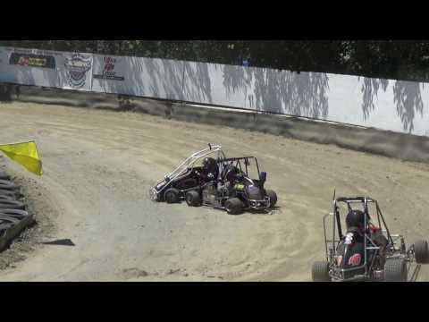 Skagit Speedway, Mini Dirt Cup 2017, Day 2, A-Mains (First 3)