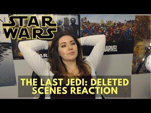 """Star Wars: The Last Jedi"" Deleted Scenes Reaction"