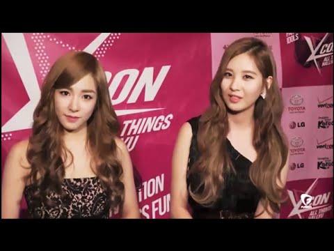 1080p [SNSD] Tiffany, Seohyun - All Kpop Interview 2014