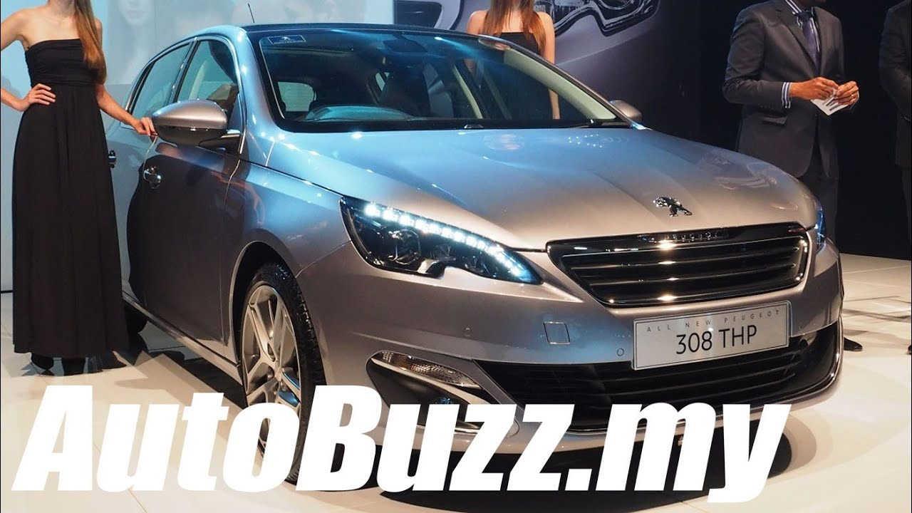 All-new Peugeot 308 1 6L THP launched, priced at RM132,888