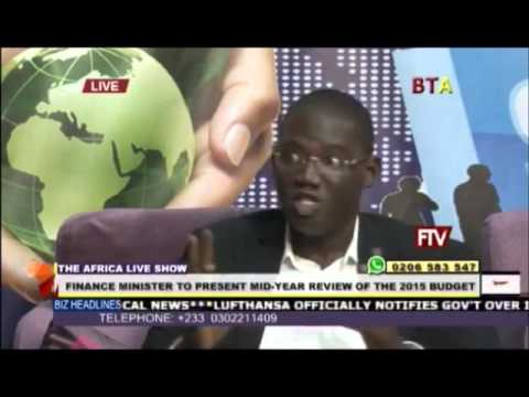 Mid Year Budget Review Discussion on Business Television Africa with Nkunimdini Asante-Antwi