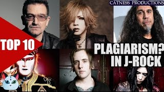 TOP 10: Plagiarism in J-Rock/Visual kei? (Part3) | Catness Productions