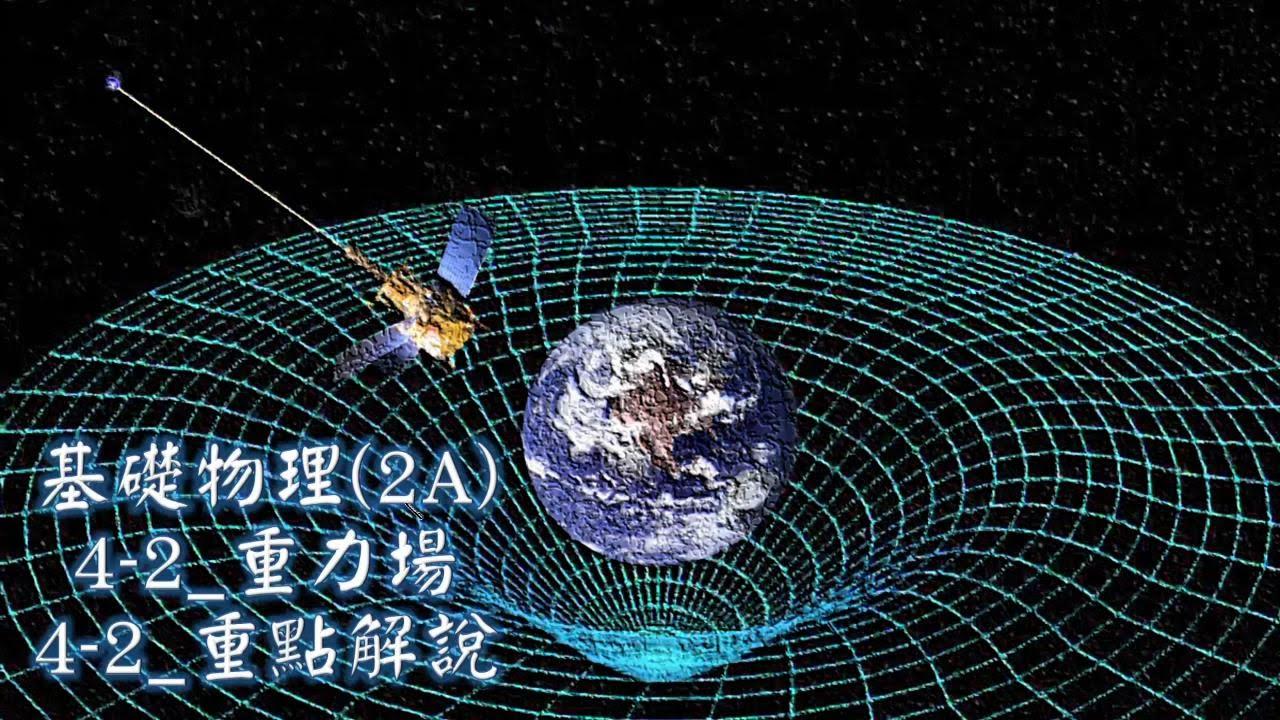 基礎物理_2A_4-2_重力場_重點解說 - YouTube