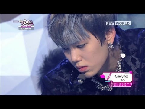[Music Bank] B.A.P - One Shot (2013.02.15)