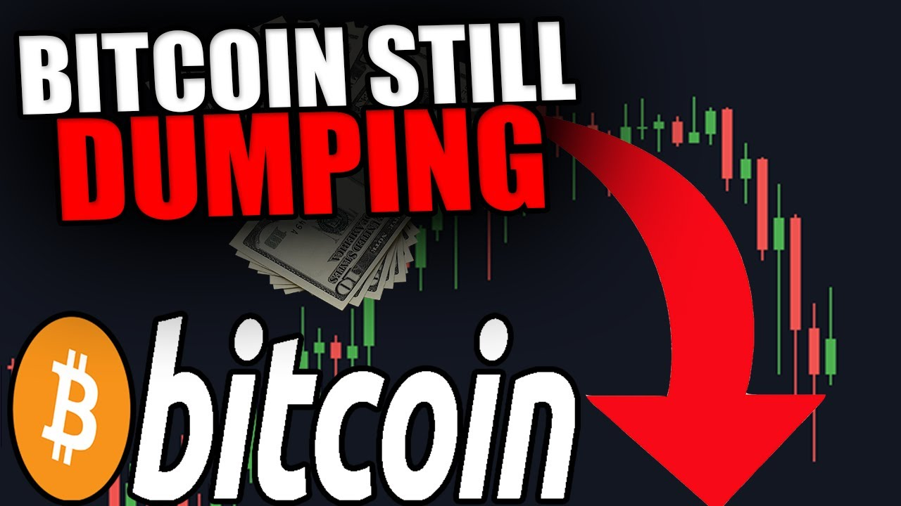 BITCOIN STILL DUMPING! [My Big Plan For Massive $$$ REVEALED!...]