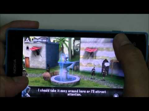 Nokia Lumia 520 Review Game test - ทดสอบเล่นเกมส์บนโนเกียลูเมีย ห้าสองศูนย์
