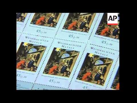 Vatican issues new Christmas 2008 stamps