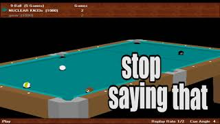 virtual pool 2: what went wrong