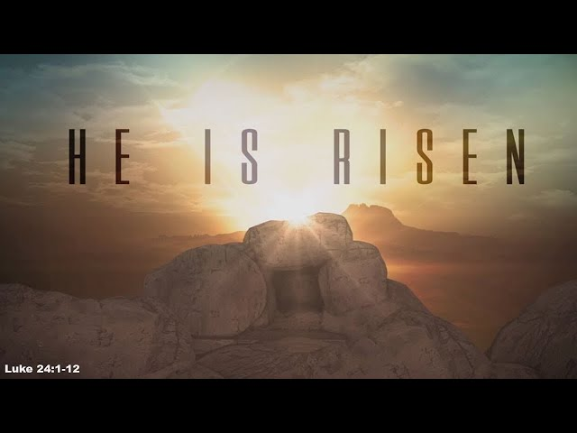 He is Risen · 210404 Sunday · Pastor Jerome Pittman
