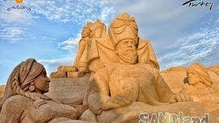 Фестиваль песчаных скульптур - International Antalya Sand Sculpture Festival