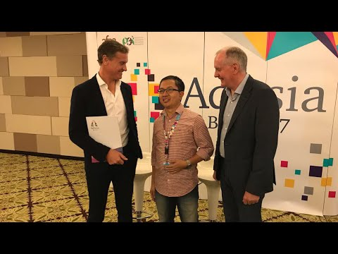 DAVID COULTHARD (Former F1 Driver) in AD ASIA 2017 BALI - AdAsia2017