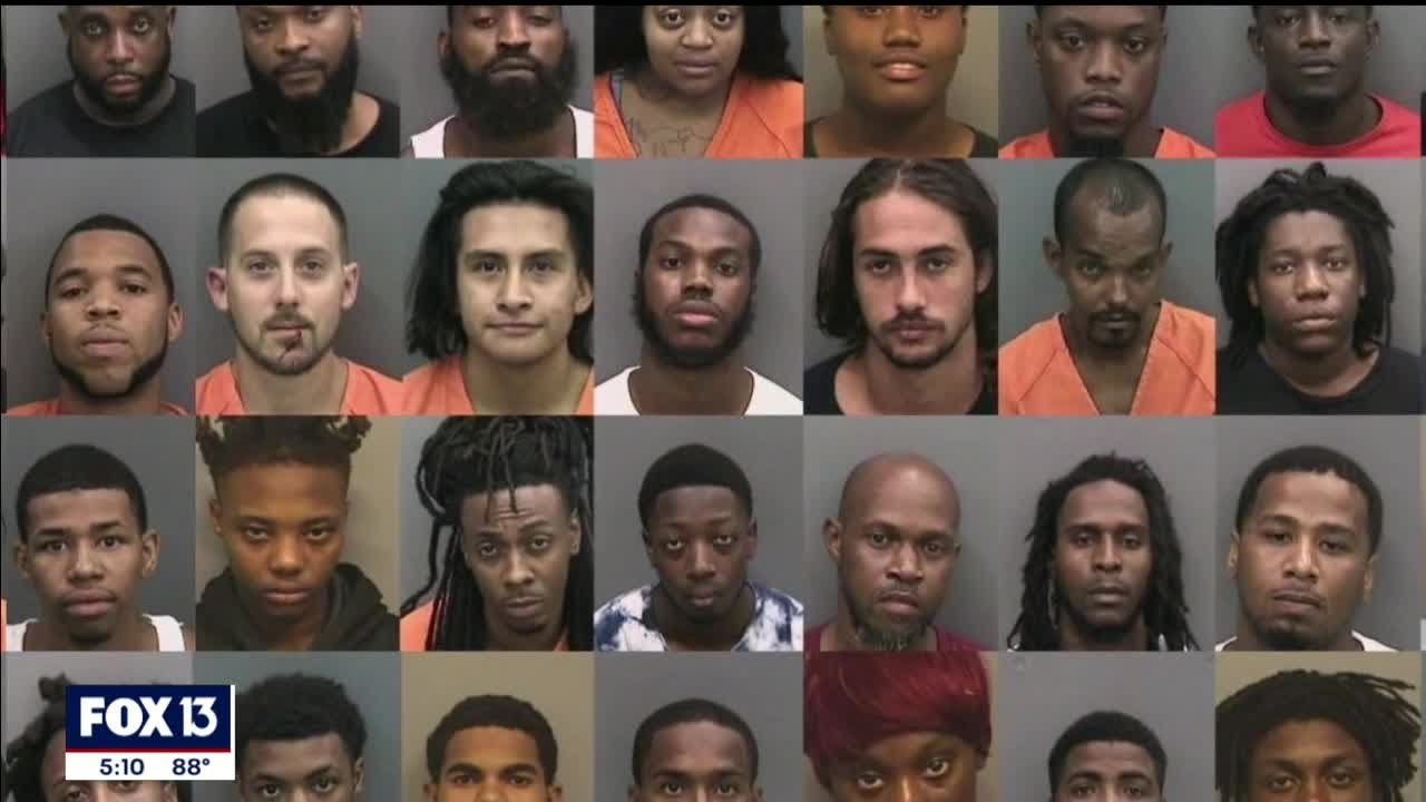 11 face felony charges from night of looting in Tampa
