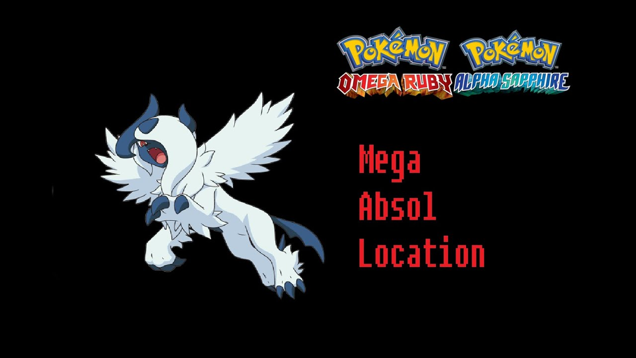 How To Find Absolite Mega Absol Pokemon Omega Ruby Alpha