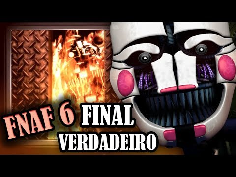 FNAF 6: FINAL VERDADEIRO REVELA A HISTÓRIA DO PUPPET! (COM LEGENDAS) - HUEstation
