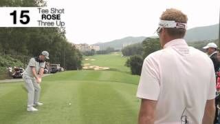 Ian Poulter v Justin Rose Match Play