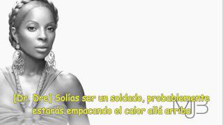 Dr Dre Ft. Mary J.Blige And Rell-The Message(Subtitulado Al Español)
